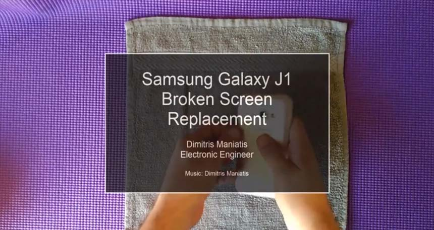 Samsung Galaxy J1 Broken Screen Replacement